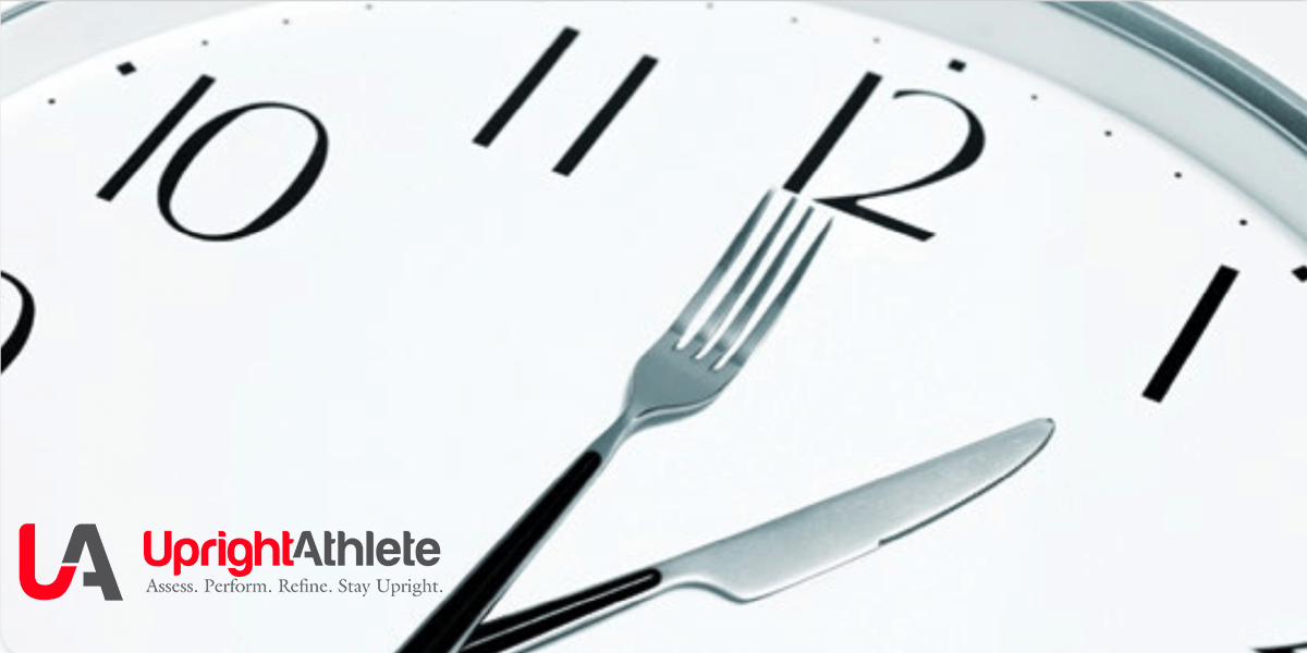 Timing Is Critical – Nutrition